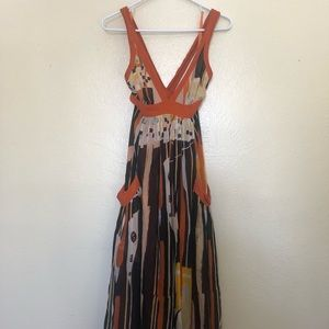 French Connection flowy dress